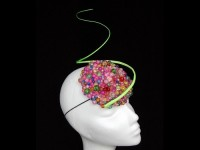 Fiona Mangan Millinery Rainbow Gumdrops